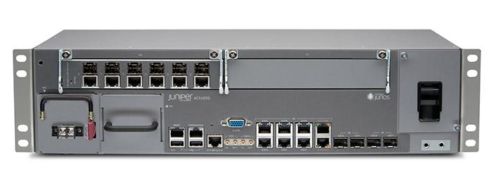 Los routers Juniper ACX4000 poseen una arquitectura extremadamente flexible