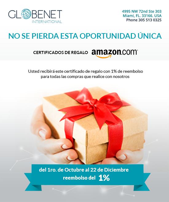 Gane un Certificado de regalo de Amazon! 2018