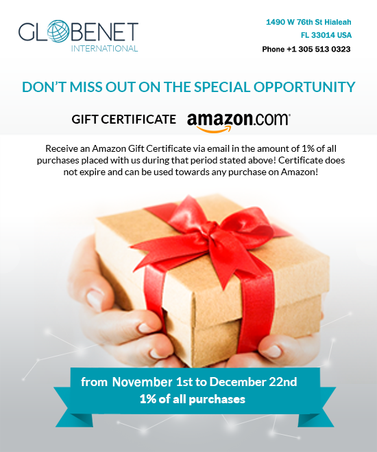 WIN AN AMAZON GIFT CERTIFICATE WITH US! 2019