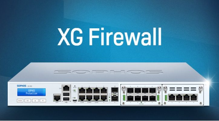 Sophos XG Firewall: Protect your network with state-of-the-art-technology